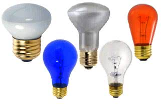 Product Incandescent, sign-bulbs